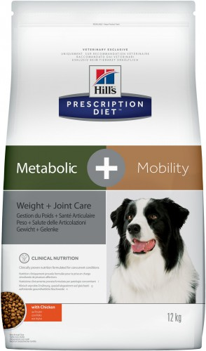 Hill's Prescription Diet Metabolic + Mobility Weight+Joint Care