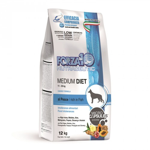 Forza 10 LineDIET DOG Adult Medium Diet Pesce