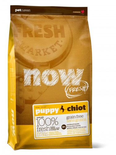 Now Fresh puppy all breeds recipe grain free