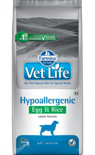 Farmina Vet Life Dog Hypoallergenic Egg & Rice