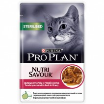 Pro Plan Sterilised Nutrisavour Duck