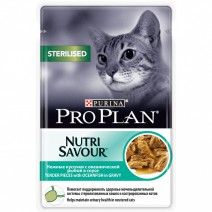 Pro Plan NutriSavour Sterilised Ocean Fish соус
