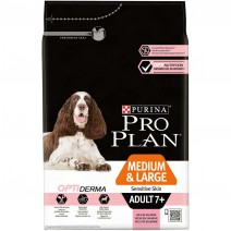 Pro Plan medium & large adult 7+ sensitive skin