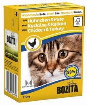 Bozita Feline Chicken &Turkey Tetra Pak