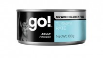 GO! Grain free turkey pate CF